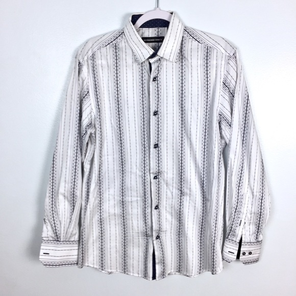 International Laundry Other - International Laundry Striped Button Front Shirt